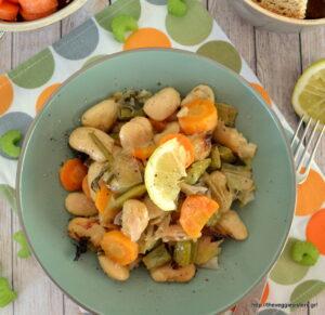 Λεμονάτοι γίγαντες πρασοσέλινο!-Lemony lima beans with leeks & celery