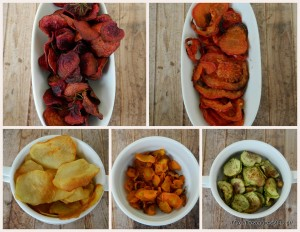 Εθιστικά σπιτικά τσιπς λαχανικών – Addictive homemade veggie chips