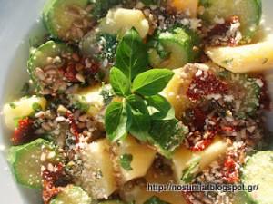 Σαλάτα βραστών λαχανικών, η μεταμόρφωση! - A new version of boiled veggies salad