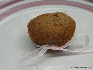 Μικρά κέικ βρώμης - Oat mini cakes