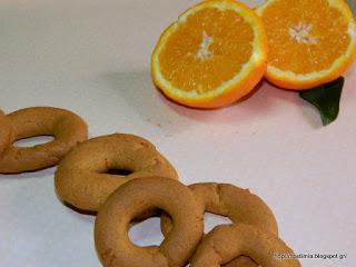Κουλουράκια πορτοκαλιού- Orange cookies