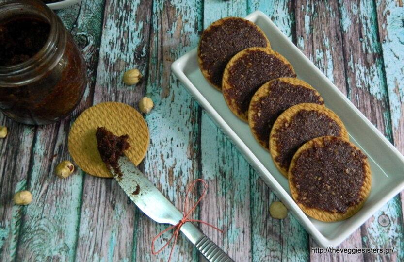 Άλειμμα σοκολάτας με χουρμάδες