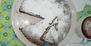 Κέικ με σοκολάτα και ταχίνι -Tahini chocolate cake