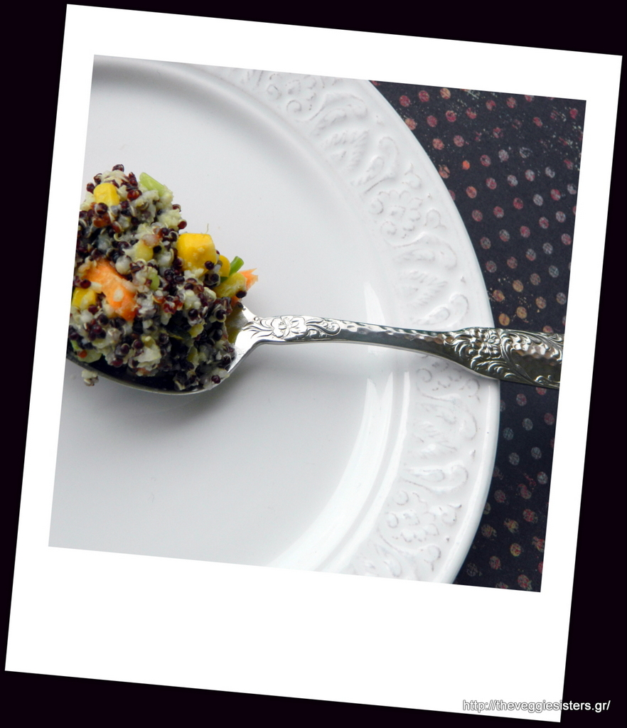 Αρωματική σαλάτα με κινόα κ κεχρί
