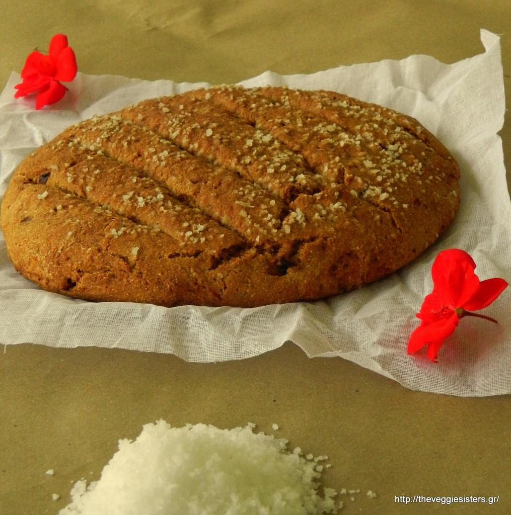 Το απόλυτα μεσογειακό ψωμί με λιαστή ντομάτα,πατέ πιπεριάς κ μελιτζάνας