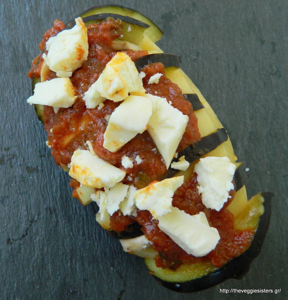 Μεσογειακές πατάτες ακορντεόν