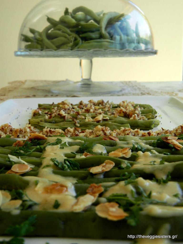 Πράσινα φασόλια σαλάτα