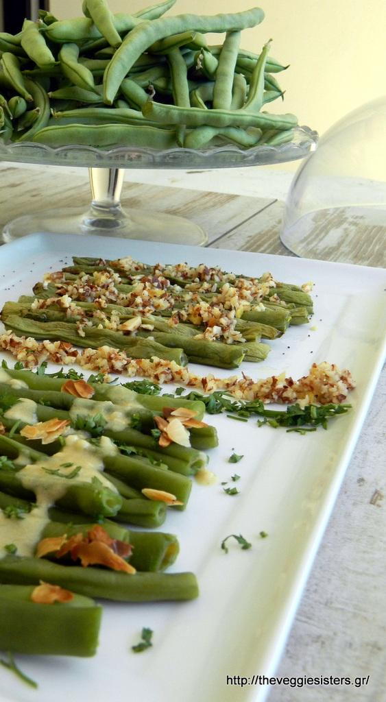 Πράσινα φασόλια σαλάτα σε 2 εκδοχές