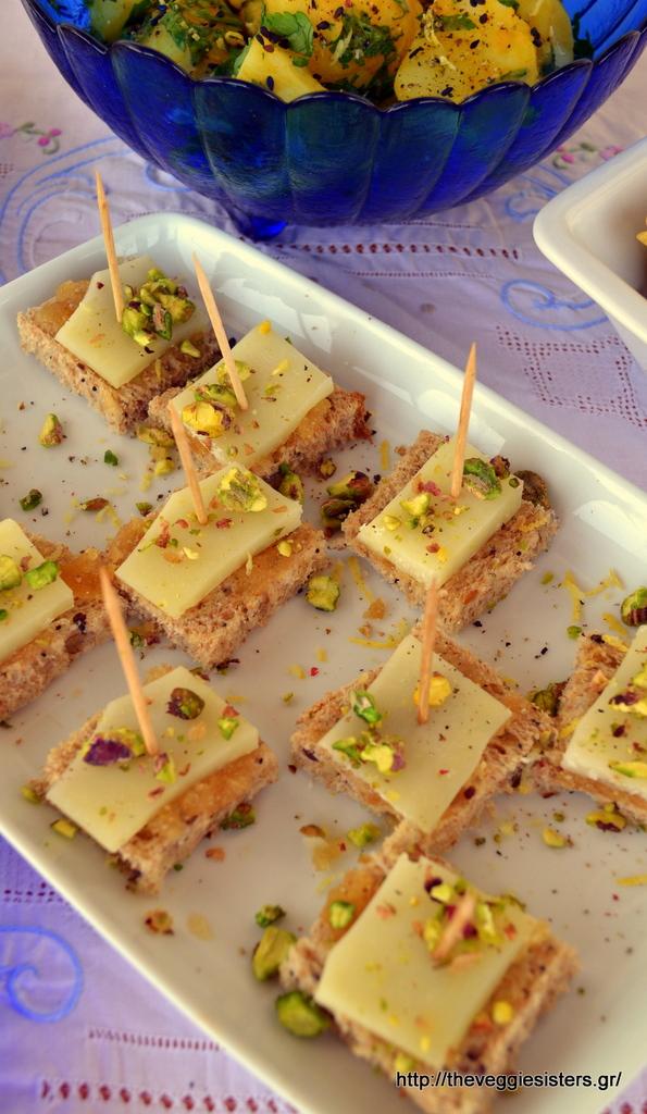 ιδέες για καλοκαιρινό μπουφέ finger food