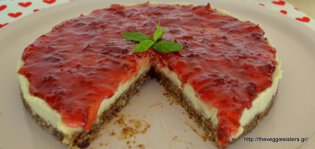 Το πιο υγιεινό νηστίσιμο Cheesecake