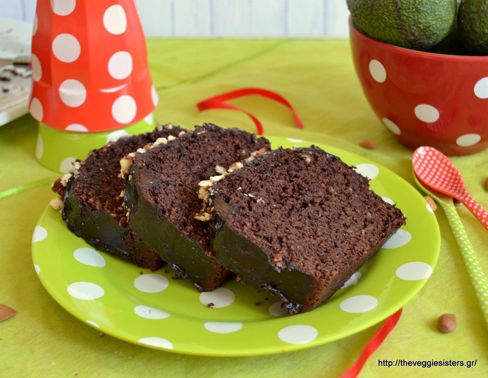 Σοκολατένιο κέικ με αβοκάντο