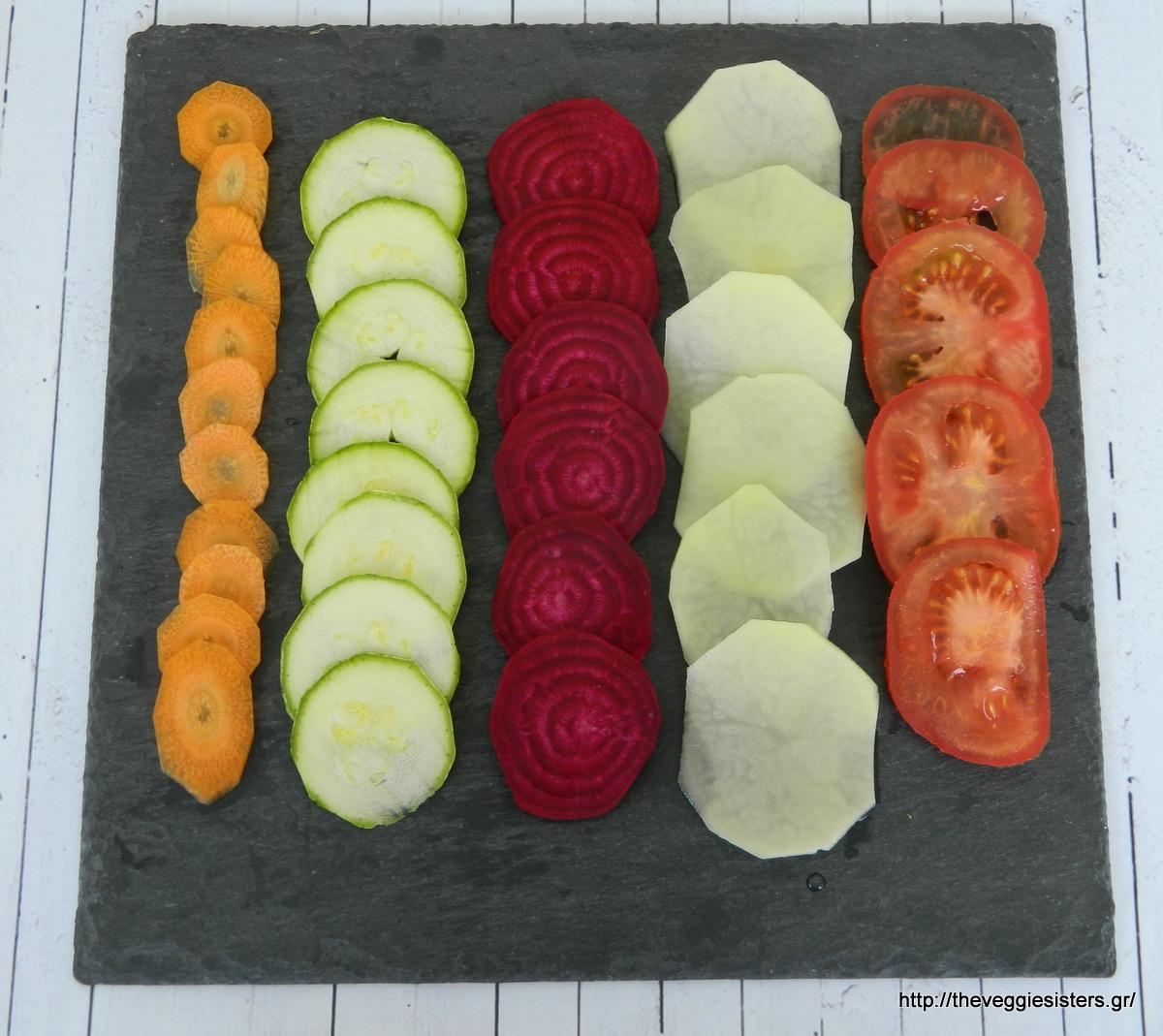 Εθιστικά σπιτικά τσιπς λαχανικών