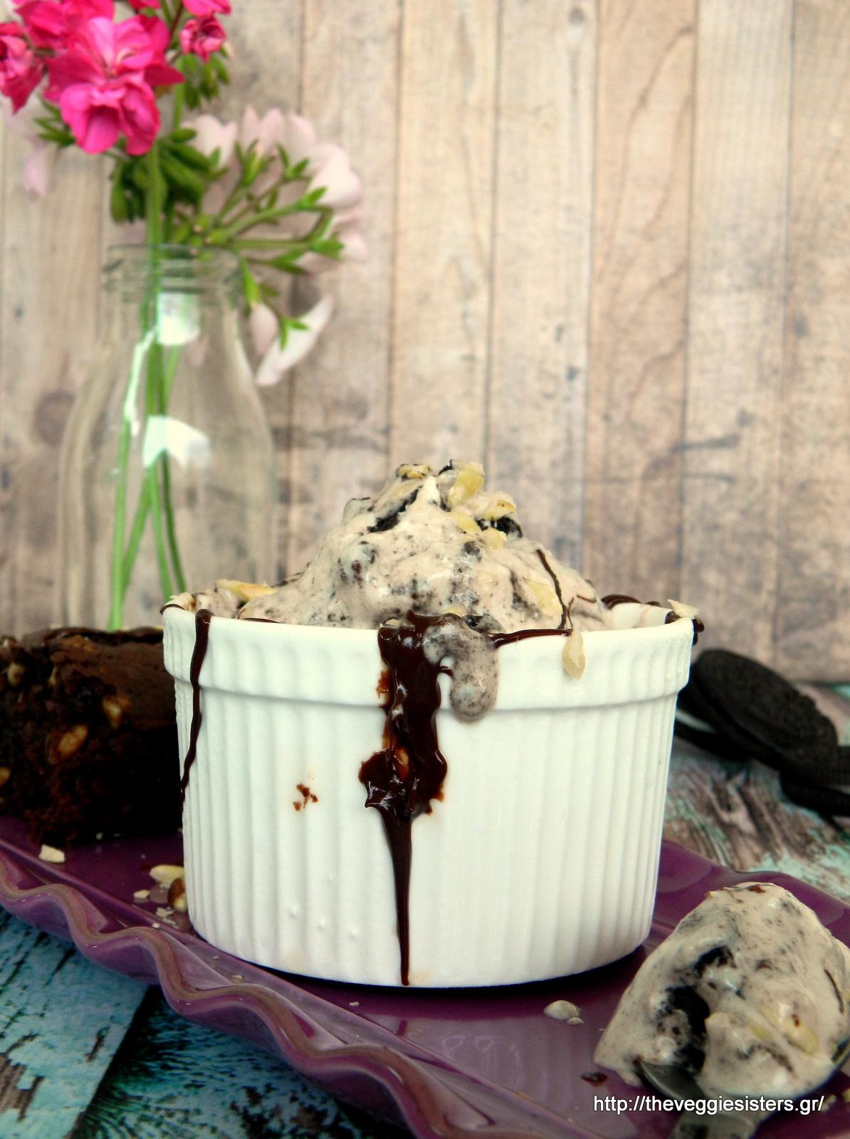 Νηστίσιμο σοκολατένιο παγωτό
