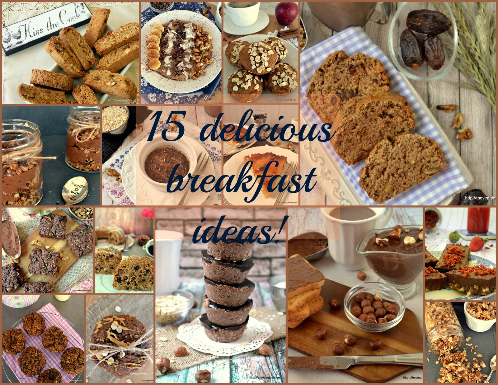 15 ιδέες για πρωινό!