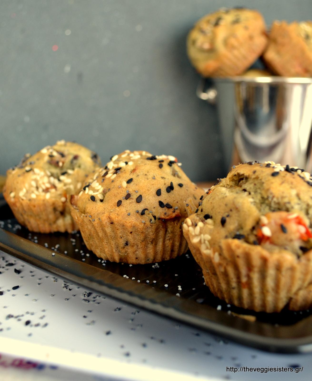 Μάφιν με ελιές - Olive muffins