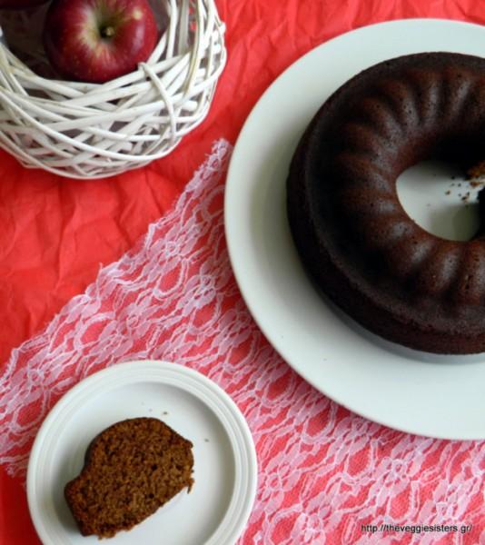 Εξαιρετικά νόστιμο νηστίσιμο κέικ μήλου – Amazing vegan apple cake