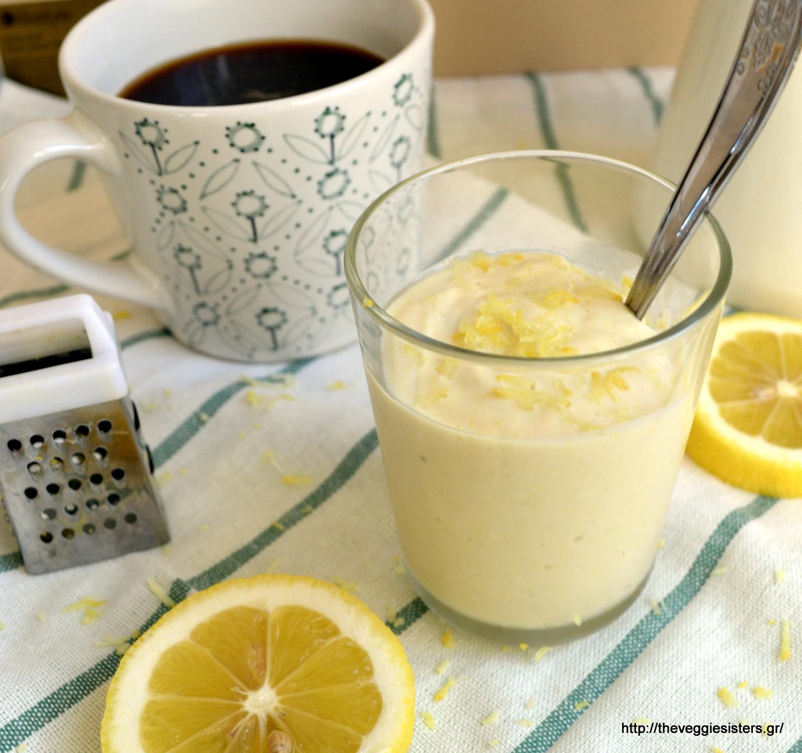 Πανεύκολη μους λεμονιού με 4 μόνο υλικά - Super easy 4-ingredient lemon mousse