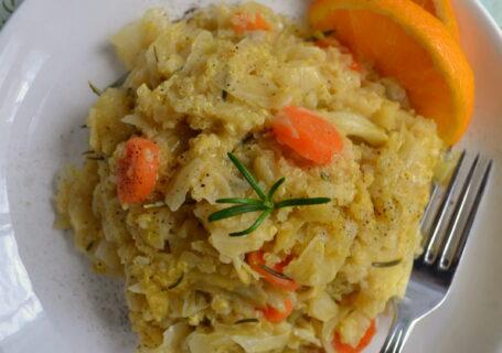 Λαχανόρυζο με κινόα