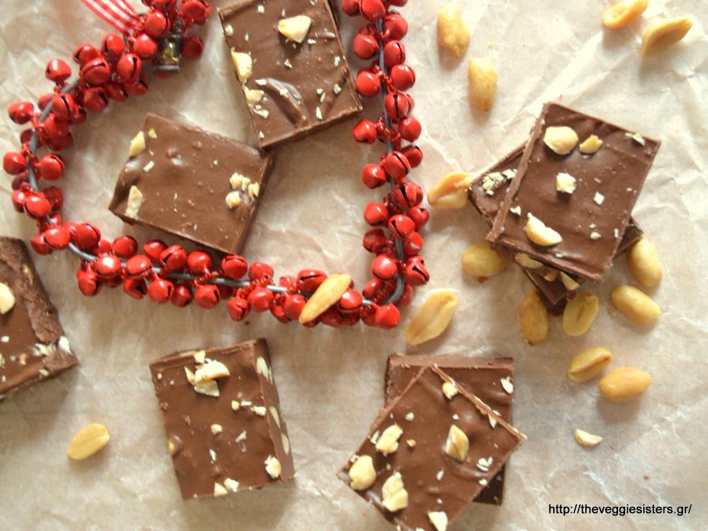Σοκολατένιο fudge με 3 υλικά
