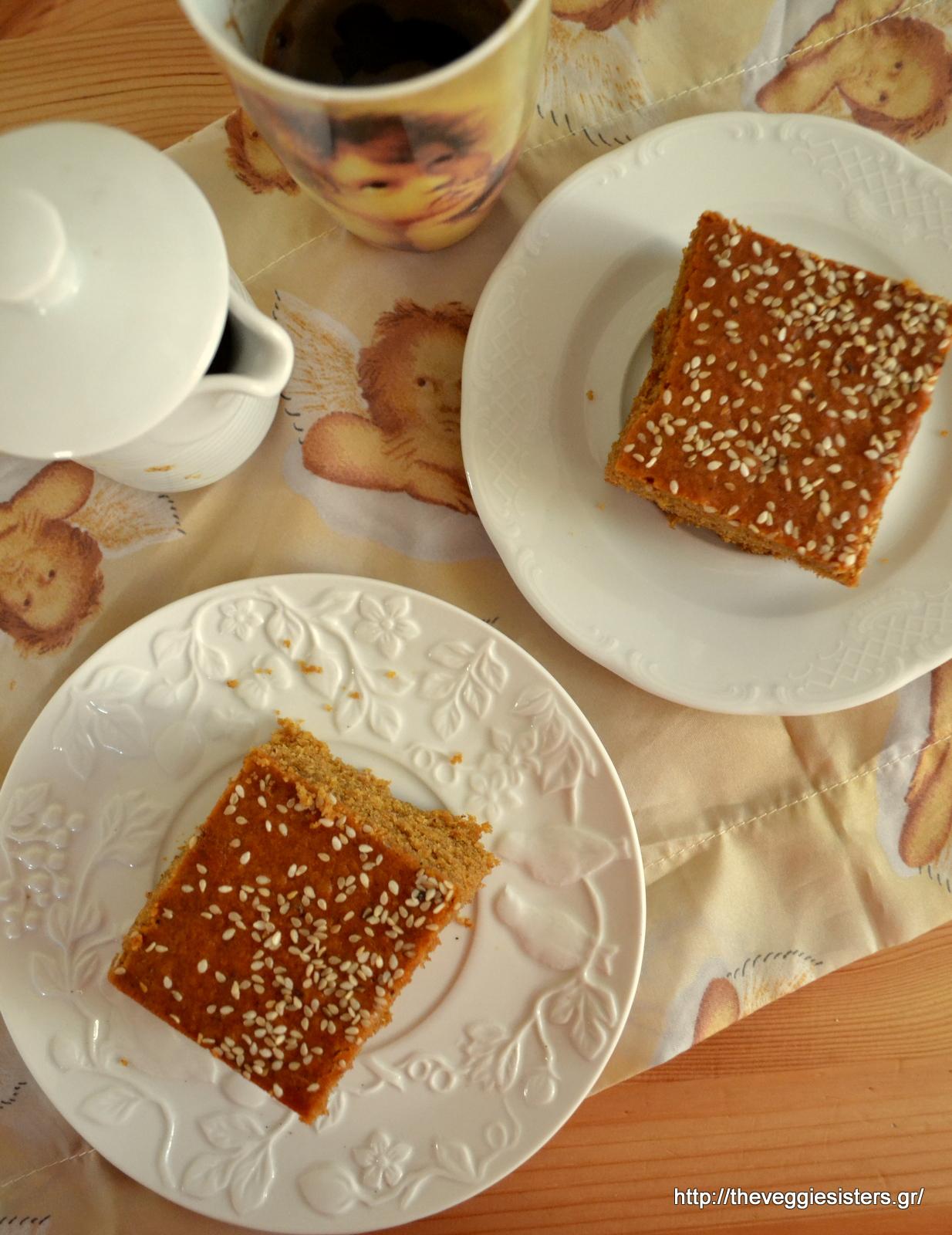 Κέικ με πετιμέζι