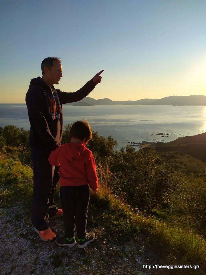 Σούρουπο με θέα τα Σεκάνια