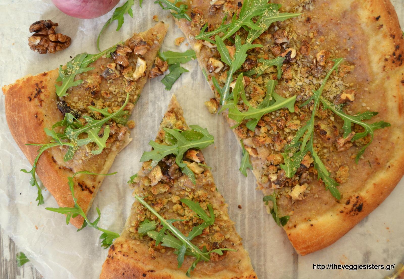 Η καλύτερη vegan πίτσα